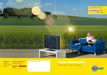 AZUR INDEPENDA - Azur Solar - Azur Solar GmbH