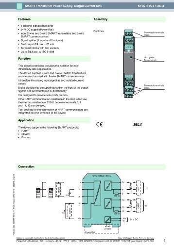 kfd2 stc4 12o 3 smart transmitter power pepperl fuchs?quality=85 kfd2 hlc ex1 d hart loop converter pepperl fuchs  at gsmx.co