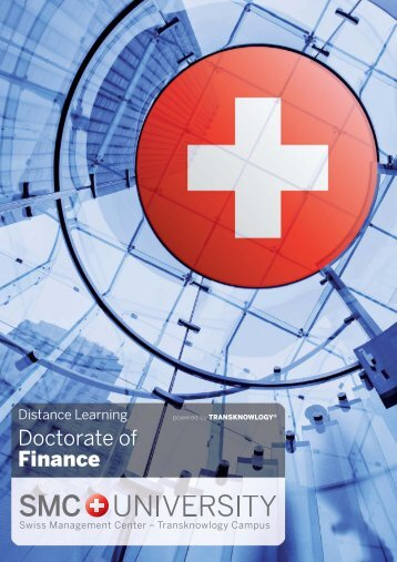 Distance Learning | Doctorate of Finance