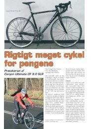 Rigtigt meget cykel for pengene Prøvekørsel af Canyon Ultimate CF ...