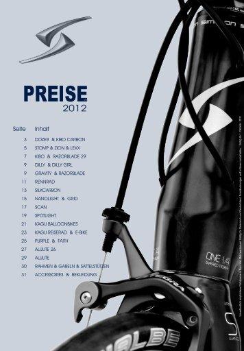 Download Ausstattungsliste 2012 .pdf 1.5MB - Fahrradkontor