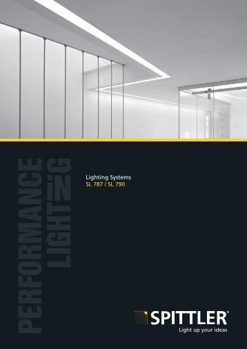 Lighting Systems SL 787 / SL 790 - SPITTLER Lichttechnik GmbH