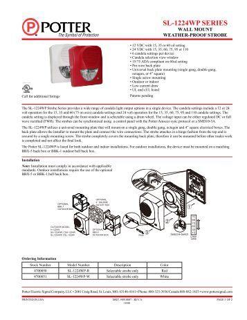 fire alarm training manual pdf