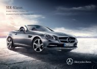 SLK - Klasse. - Mercedes-Benz Deutschland