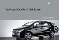 Das Original-Zubehör für die B-Klasse. - Mercedes-Benz ...