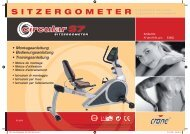 S I T Z E R G O M E T E R - RC-Sportgeräte - Service & Support ...