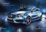 Download Preisliste A-Klasse (PDF) - Mercedes-Benz Österreich