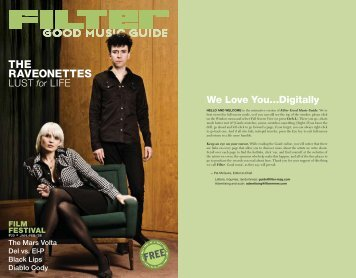 THE RAVEONETTES - FILTER Magazine