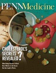 cholesterol's secrets revealed? - Penn Medicine - University of ...