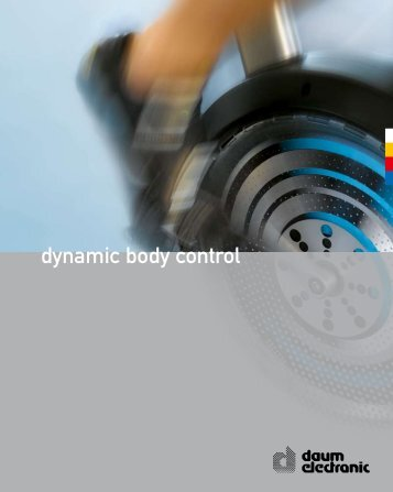 dynamic body control - Daum Electronic