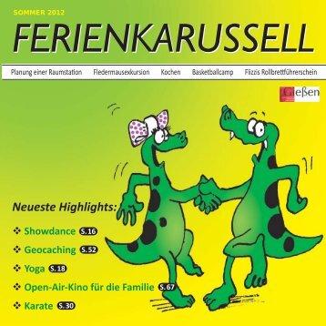 Ferienkarussell Inhalt.indd - Jugendpflege Gießen