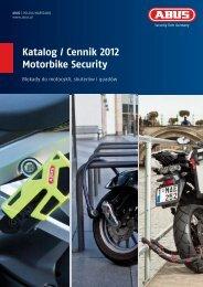 Katalog / Cennik 2012 Motorbike Security - Abus Polska