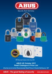 ABUS - The good feeling of security