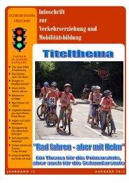 Ausgabe 2012 - Verkehrserziehung und Mobilitätsbildung in NRW