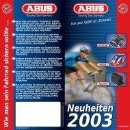 Neuheiten 2003 - Mamut ServiceSuite WebShop