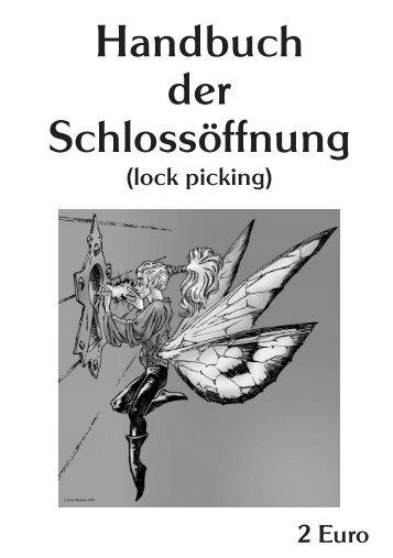 MIT-Handbuch zur Schlossöffnung - Projektwerkstatt