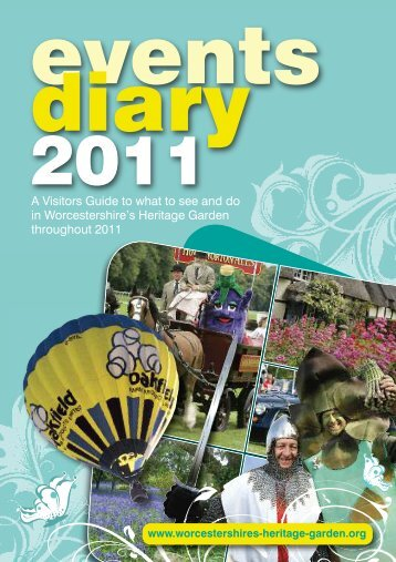 events diary 2011 - Wychavon District Council