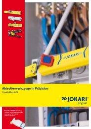 Abisolierwerkzeuge in Präzision - Jokari