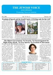 July 2006 - Jewish Voice and Opinion
