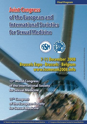 Scientific Program - ESSM: European Society for Sexual Medicine