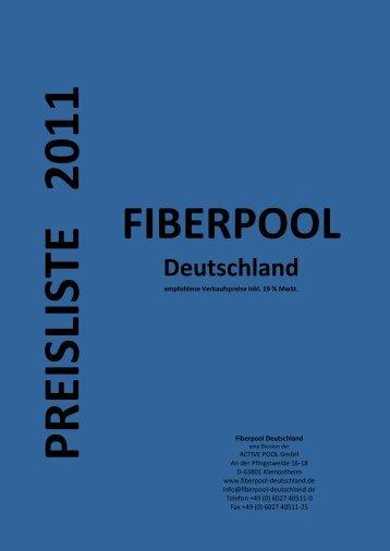 FIBERPOOL – Luxuriöse Fiberglas-Pools - Fiber Pool Deutschland