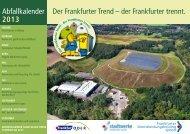 2013 - Frankfurter Dienstleistungsholding GmbH