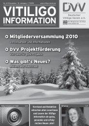 Probe-Ausgabe (4/2010) als PDF-Datei zum - vitiligo-information.de