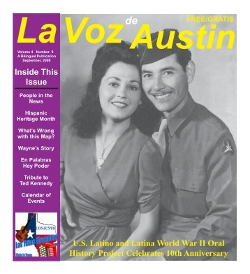 La Voz de Austin September 2009 printer 1 - La Voz Newspapers