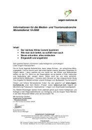 und Tourismusbranche Monatsdienst 10-2008 - Ungarn