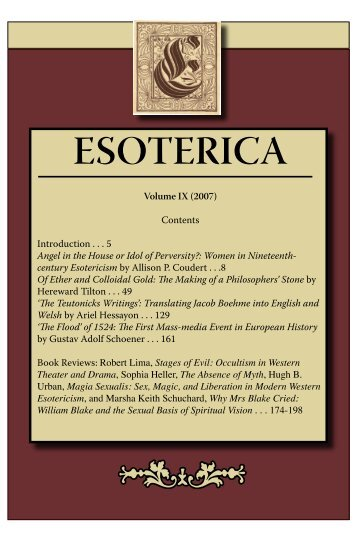 Of Ether and Colloidal Gold - Esoterica - Michigan State University