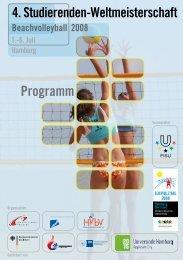 Programm - Allgemeiner Deutscher Hochschulsportverband