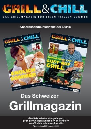 Inserate- und Leistungsangebot 2010 - grill&chill