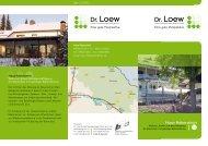 Infoflyer (pdf) - Dr. Loew