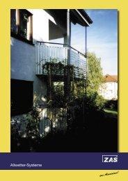 Balkonverkleidungen und Balkongeländer aus Aluminium