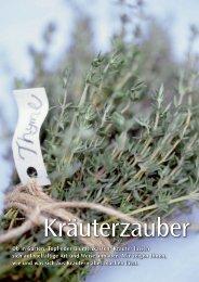 Ob in Garten, Topf oder Blumenkasten: Kräuter lassen sich ... - Sperli