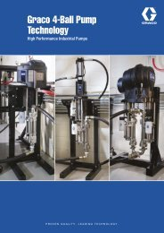 Brochure Graco 4-Ball Pump Technology - Graco - Graco Inc.