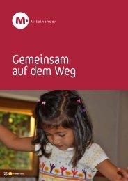 Gemeinsam auf dem Weg - Kindergarten und Schule in Südtirol
