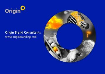 Brand design - Origin Brand Consultants