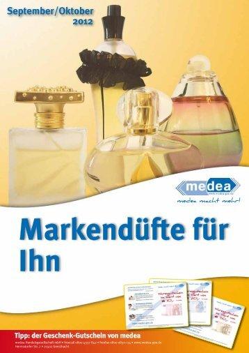 Markendüfte für Ihn September/Oktober 2012 - Medea