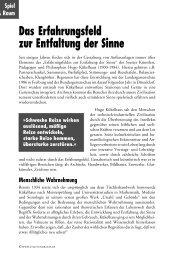 Das Erfahrungsfeld zur Entfaltung der Sinne - STADT und RAUM ...
