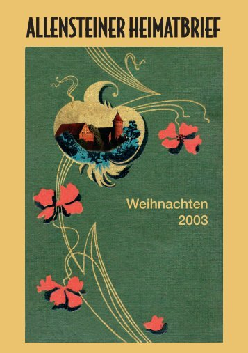 Jahrestreffen Luisenschule Allenstein - Stadtgemeinschaft Tilsit eV