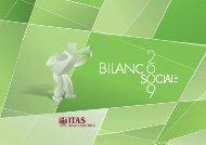 Bilancio Sociale 2009 - Gruppo ITAS