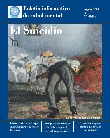 El Suicidio - psiquiatria chile