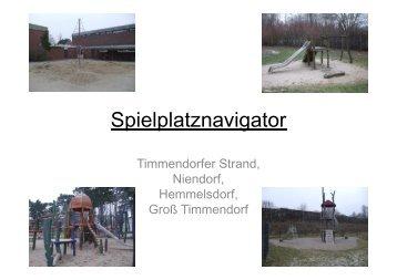 Spielplatznavigator - Timmendorfer Strand / Niendorf