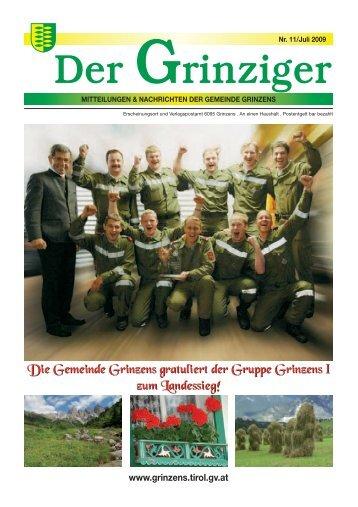 2091490 Grinzens_Zeitung-11.qxd - Gemeinde Grinzens - Land Tirol