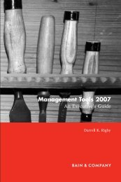 Management Tools 2007: An Executive's Guide - Iván Andrade ...