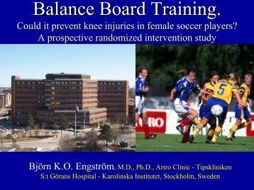 Balance Board Training - Engstrom - ACL Study Group
