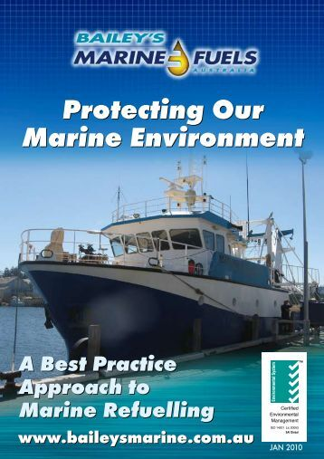 Protecting Our Marine Environment Protecting Our Marine ...