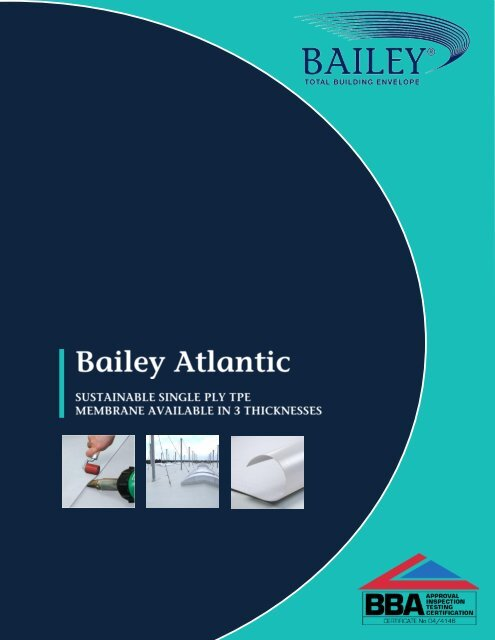 Bailey Atlantic Handbook Riba Product Selector