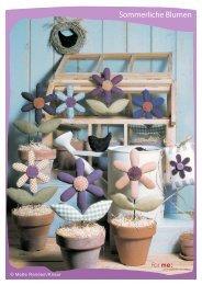 Sommerliche Blumen - For me